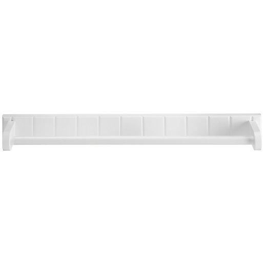Croydex Portland White Towel Rail - 600mm