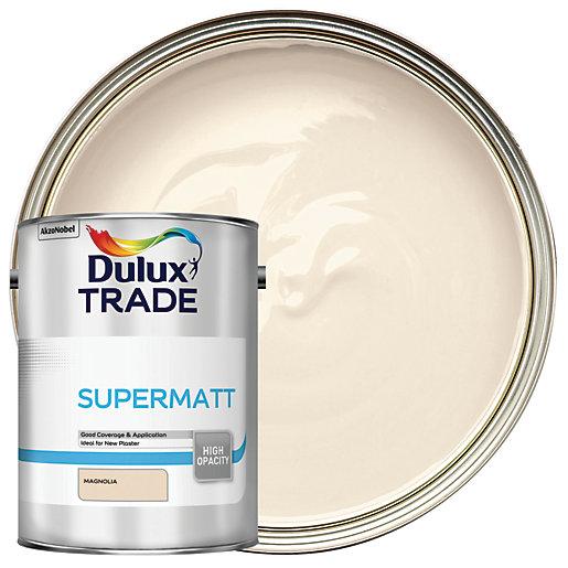 Dulux Supermatt Matt Emulsion Paint - Magnolia 5L