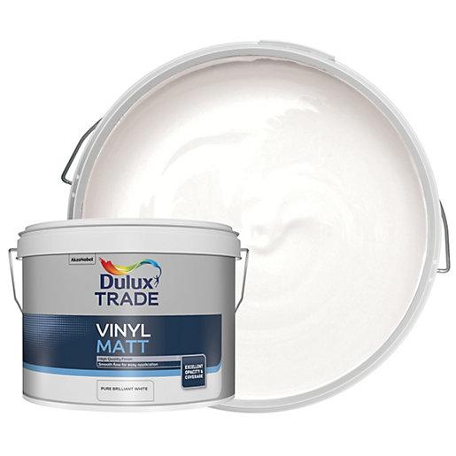 Dulux Trade Vinyl Matt Emulsion Paint - Pure