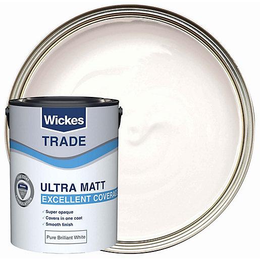 Wickes Trade Ultra Matt Emulsion Pure Brilliant White