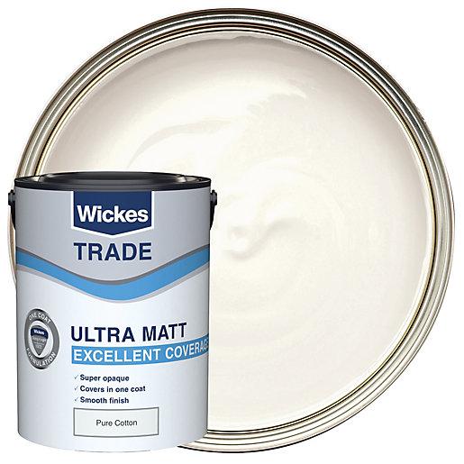 Wickes Trade Ultra Matt Pure Cotton 5l