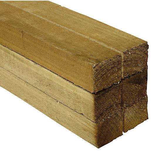 Wickes Treated Sawn Timber - 47 x 47
