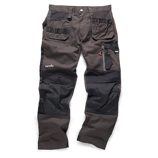 Scruffs 3D Trade Graphite Trousers - Reg Leg