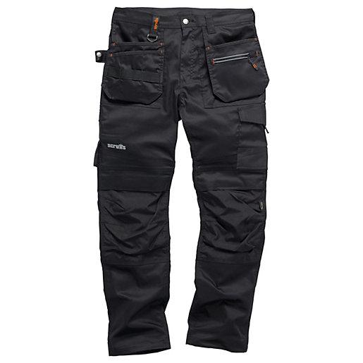 Scruffs Tradeflex Work Trousers Black