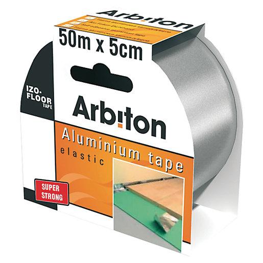 Arbiton Underlay Foil Tape 50mm x 50m