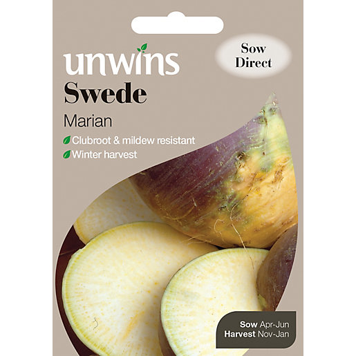 Unwins Marian Swede Seeds