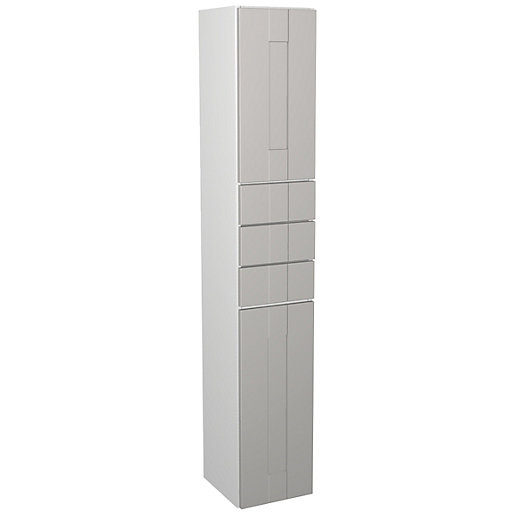 Wickes Vermont Grey On White Multi - Drawer
