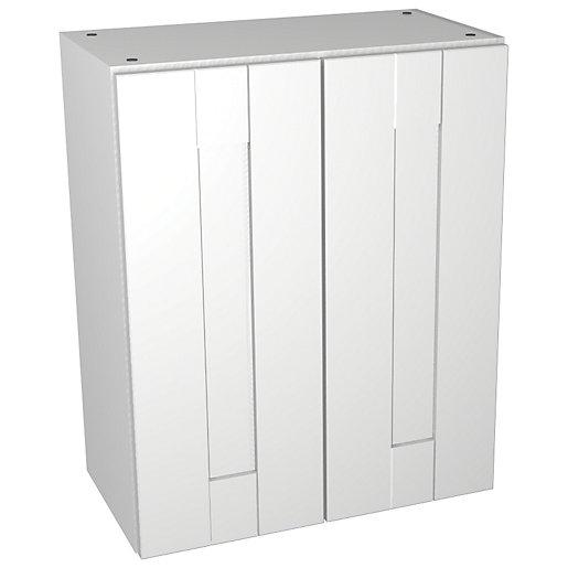 Wickes Vermont White Floorstanding Storage Unit - 600