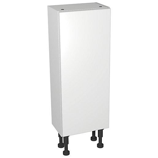 Wickes Vienna White Gloss Compact Floorstanding Storage Unit
