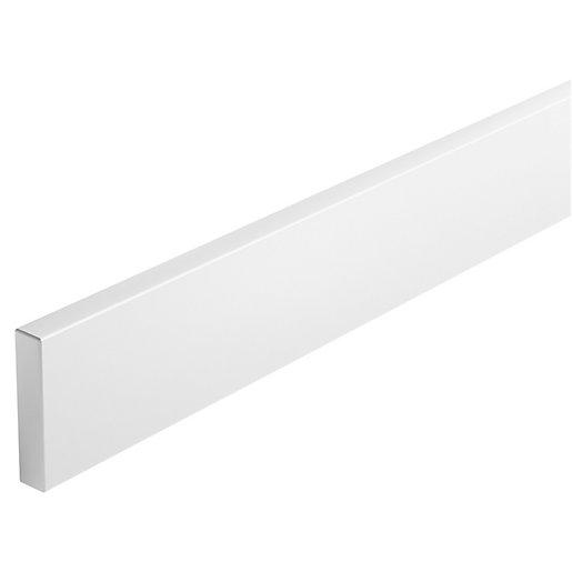 Wickes Vienna White Modern Cornice - 3m