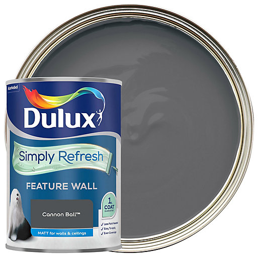 Dulux One Coat - Cannon Ball - Simply
