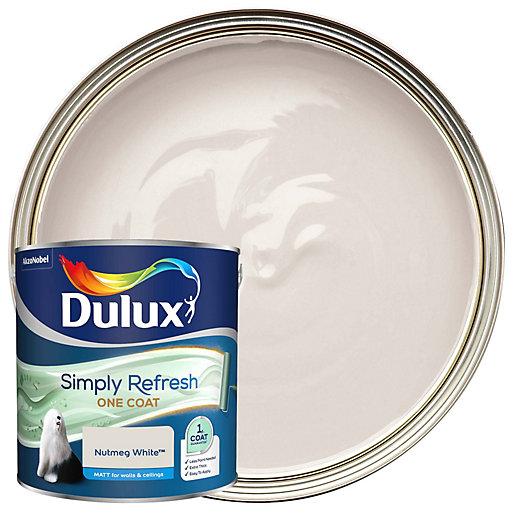 Dulux One Coat - Nutmeg White - Simply