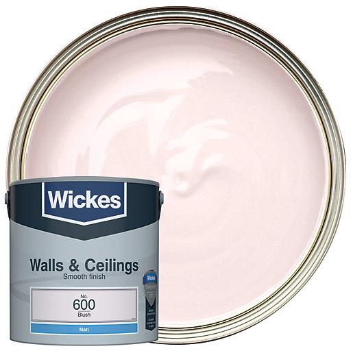 Wickes Blush - No.600 Vinyl Matt Emulsion Paint