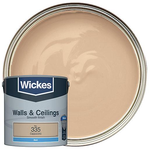 Wickes Cappuccino - No.335 Vinyl Matt Emulsion Paint