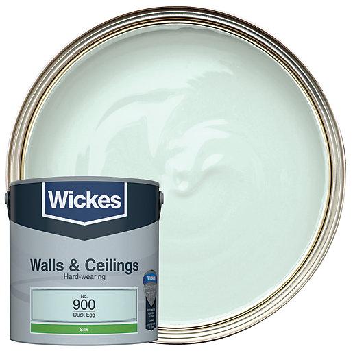 Wickes Duck Egg - No.900 Vinyl Silk Emulsion