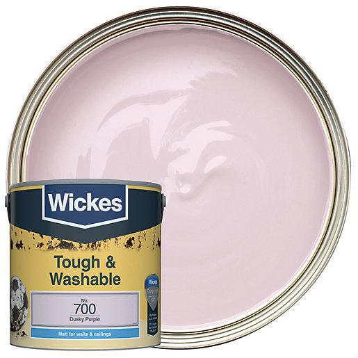 Wickes Dusky Purple - No.700 Tough & Washable