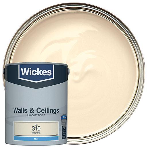 Wickes Magnolia - No. 310 Vinyl Matt Emulsion
