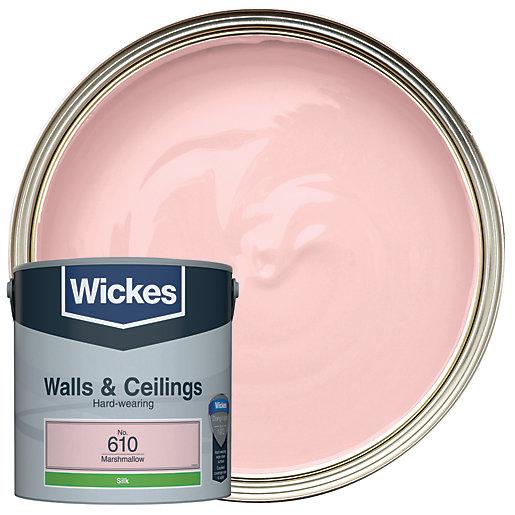Wickes Marshmallow - No.610 Vinyl Silk Emulsion Paint