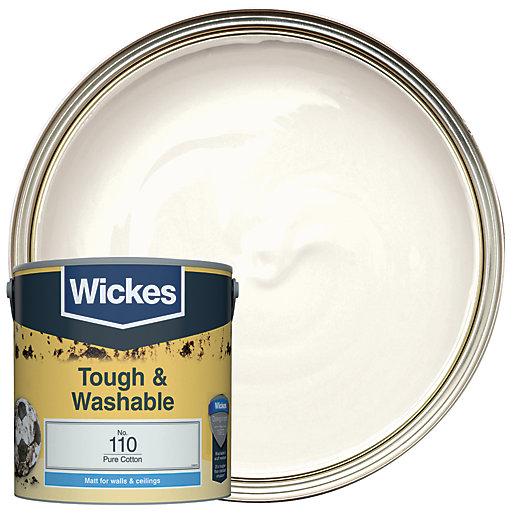 Wickes Pure Cotton - No.110 Tough & Washable
