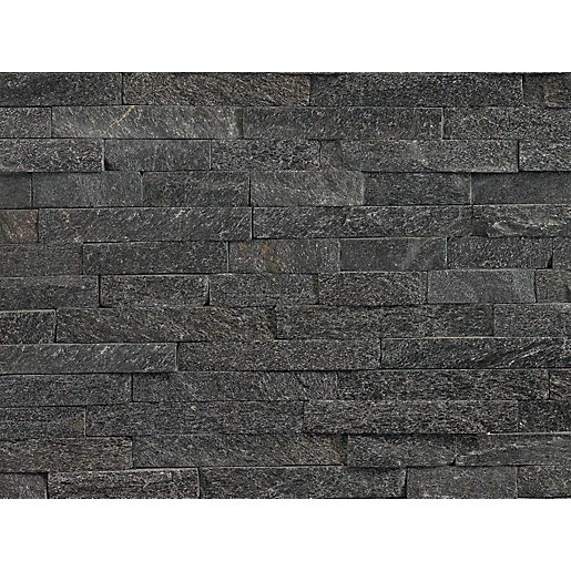 Marshalls Stoneface Drystack Corner Walling Pack - Nero