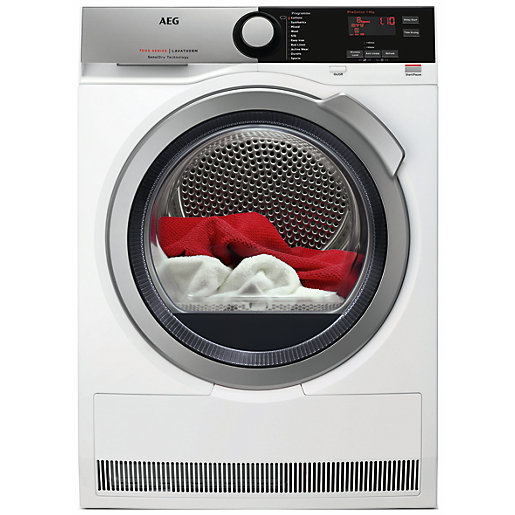 AEG Freestanding Sensidry Tumble Dryer T7DEE845R