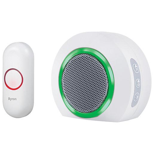 Byron 200m Plug-in Wireless Doorbell set