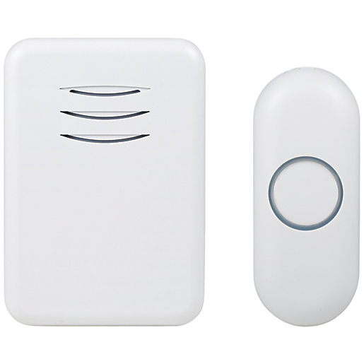 Byron DBY-22312UK 150m Wireless Doorbell with Plug In