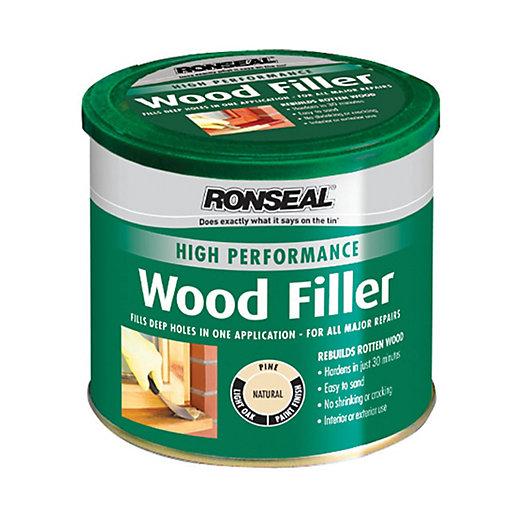 Ronseal High Performance Wood Filler - Natural 275g