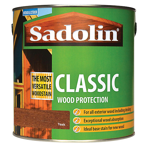 Sadolin Classic Woodstain Teak 2.5L