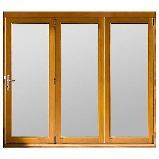 Jeld-Wen Kinsley Finished Solid Hardwood Patio Bifold Door