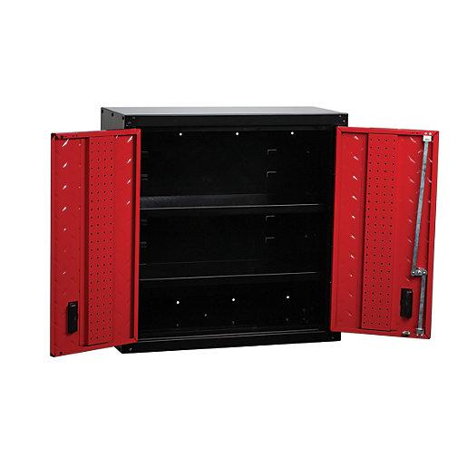 Hilka Garage Storage Locking Wall Hung Unit -