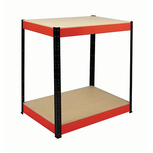 Rb Boss Workbench 2 Wood Shelves - 900