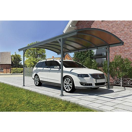 Palram 5010 x 2910mm Vitoria Polycarbonate Freestanding Carport