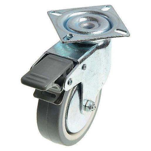 Wickes Heavy Duty Castor Wheel Swivel Plate with
