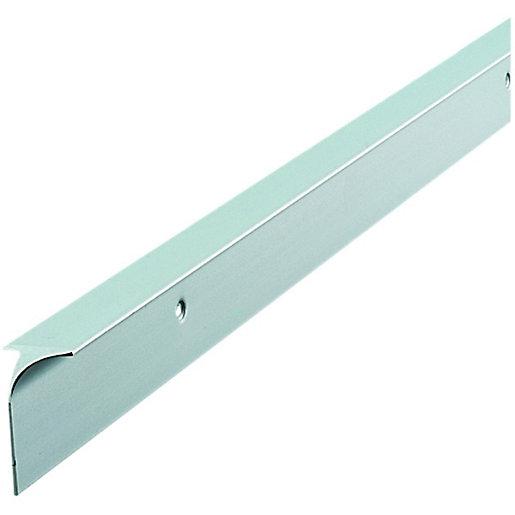 Wickes Worktop Corner Joint Trim - Silver 38mm
