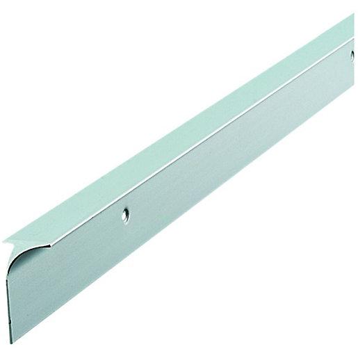 Wickes Worktop Corner Joint Trim - Silver Effect