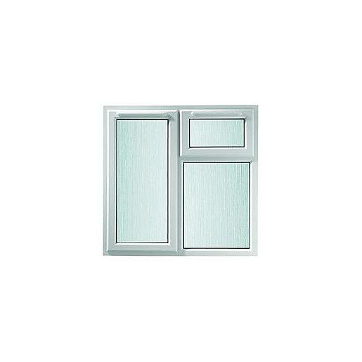 Wickes White uPVC Casement Window - Left Side
