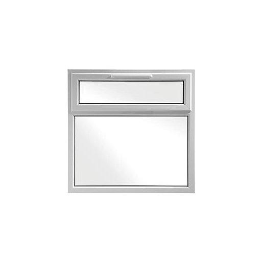 Wickes White uPVC Casement Window - Top Hung