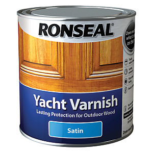 Ronseal Exterior Yacht Varnish Satin - 1L