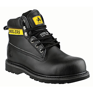 Amblers Safety FS9 Safety Boot - Black