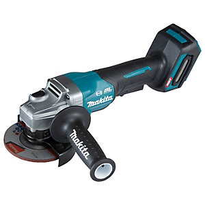 Makita GA012GZ XGT 40Vmax 115mm Cordless Paddle Switch Brushless Angle Grinder - Bare