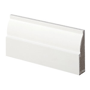 Wickes Ovolo Fully Finished Architrave - 18mm x 69mm x 2.1m Pack of 5
