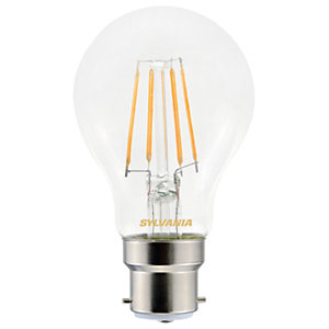 Sylvania LED GLS Non Dimmable Filament B22 Light Bulb - 4.5W