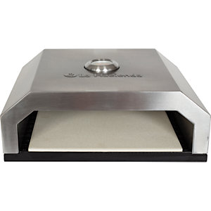 Black Outdoor BBQ Pizza Oven