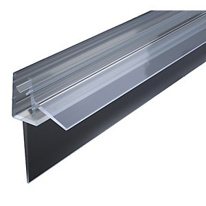 Wickes Bath Screen Seal 4-5mm Glass