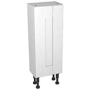 Wickes Vermont White Compact Wall or Floorstanding Storage Unit - 300 x 735mm