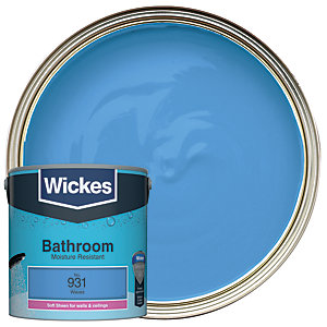 Wickes Waves - No. 931 Bathroom Soft Sheen Emulsion Paint - 2.5L