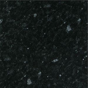 Wickes Black Slate Gloss Bathroom Worktop - 2m x 337mm x 28mm
