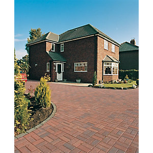 Marshalls Driveway Block Paving - Brindle 200 x 100 x 50mm