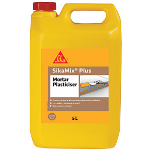 Sika Mix Plus Mortar Plasticiser Admixture - 5L